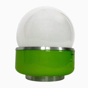 Space Age Modell Corsica Tischlampe aus Muranoglas von Stilux Milano, 1960er
