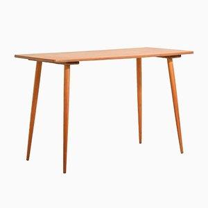 Scandinavian Curved Table in Teak