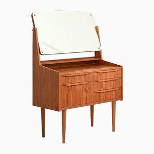 Danish Teak Entrance Furniture with Mirror