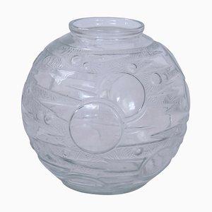 Französische Art Deco Vase, 1930er