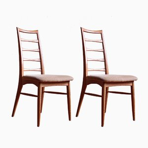 Dining Chairs Model Lis by Niels Koefoed for Koefoeds Hornslet, Set of 6