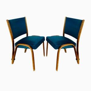 Bow Holzstühle von Steiner, 2er Set