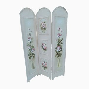 Painted Lacquered Partition Screen