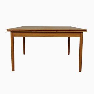Large Danish Teak Extendable Dining Table, 1960s