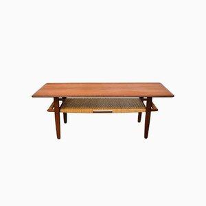 Table Basse en Teck par Kurt Østervig pour Jason Møbler