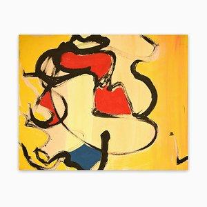 Dana Gordon, Running the Light, 1998, Gouache auf Matte Board