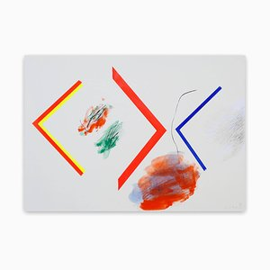 Claude Tétot, Untitled 1, 2017, Acryl & Öl auf Papier