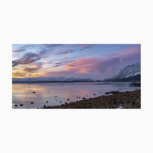 Gilles Morteille, Iceland 74, Impresión digital, Enmarcado