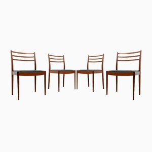 Mid-Century Teak Dining Chairs by B Wilkins for G-Plan, 1960s, Set of 4