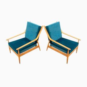 Mid-Century Scandart Armchair Lounge Chair, 1960s