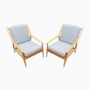 Mid-Century Scandart Lounge Chairs, 1960s, Set of 2