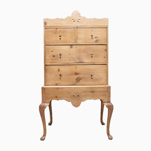 Antique French Pine Dresser Chest of Drawers