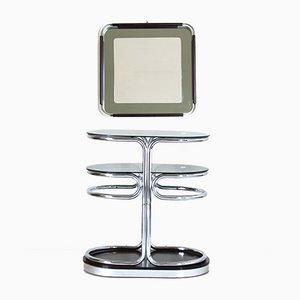 Space Age Entrance Hall Mirror & Console, 1970s, Set of 2