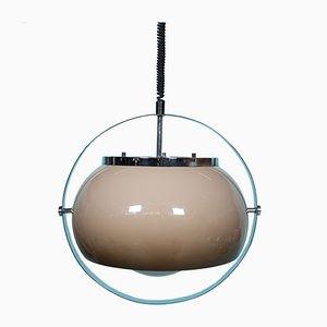 Italian Space Age Mushroom Pendant Lamp from Guzzini, 1960s
