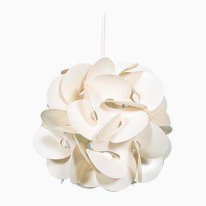 Mid-Century French Desert Rose Pendant Lamp by Raoul Raba, 1968