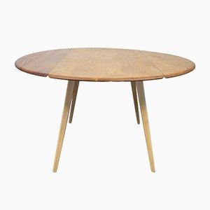 Mesa de comedor abatible redonda de Lucian Ercolani para Ercol