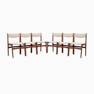 Danish Teak Chairs, 1970s, Set of 6
