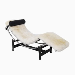 LC4 Chaise Lounge by Le Corbusier, C. Perriend & P. Jeanneret for Cassina