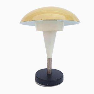 Lámpara hongo amarilla
