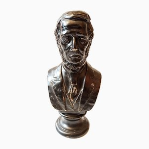 Bust of Abraham Lincoln, Ceramic