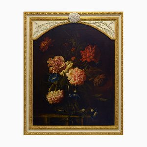 Still Life with Flowers, 17th-Century, Oil on Canvas