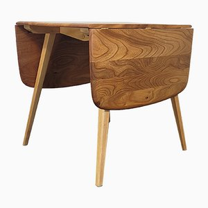 Square Drop Leaf Dining Table by Lucian Ercolani for Ercol