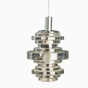 Ceiling Lamp from Glashütte Limburg, 1970s