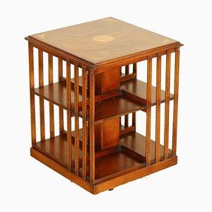 Librería o mesa auxiliar Sheraton Revival de caoba