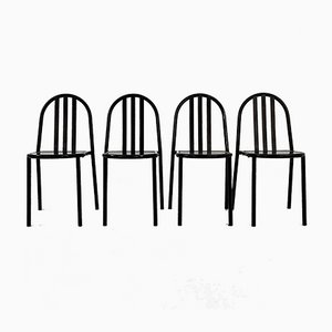 No.222 Chairs by Robert Mallet-Stevens, 1970s, Set of 4