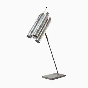 Lampe de Bureau Tu-Be Two en Aluminium de Ingo Maurer, Allemagne, 1980s