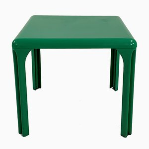 Green Stadio 80 Dining Table by Vico Magistretti for Artemide, 1970s