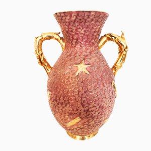Skulpturale Keramikvase von Arista, 1960