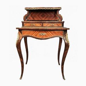 Napoleon III Schreibtisch mit Intarsien