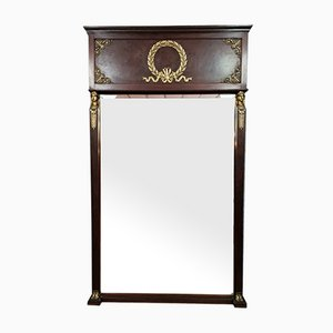 Empire Mahogany Mirror, 1880s