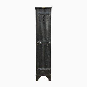 Armario con 1 puerta de chapa ondulada de Strafor, años 20