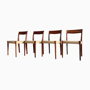 Rosewood Dining Chairs from Svegards Markaryd, Set of 4