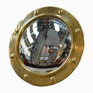 Sun Spiegel aus Kupfer und gebogenem Glas, 1970er