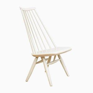 Mid-Century Wooden Mademoiselle Side Chair by Ilmari Tapiovaara, 1960s