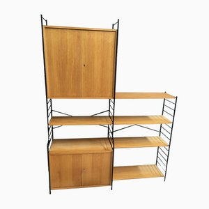 Modular String Wall Unit from WHB, 1960s, Set of 12