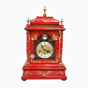 Reloj de mesa Tempus Fugit con cuerda y caja de música