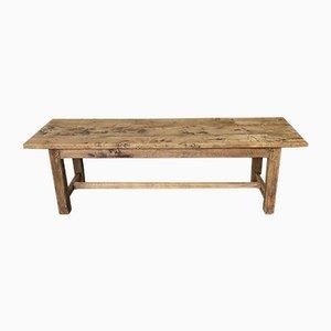 Large 19th Century Rustic Oak Farmhouse Dining Table