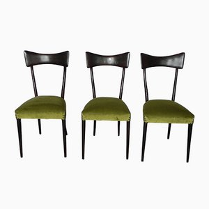 Chairs in the Style of Ico Parisi, 1960s, Set of 3