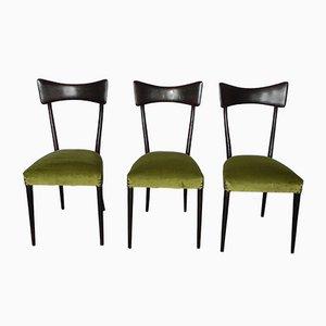 Stühle im Stil von Ico Parisi, 1960er, 3er Set