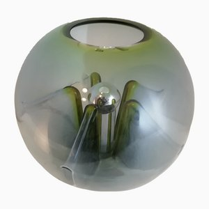 Nuphar Table Lamp in Green Glass by Toni Zuccheri for VeArt, Italy, 1970s