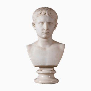 Busto de Gaio Nottoviano, mármol de Carrara
