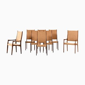 Dining Chairs by Johannes Andersen for Mogens Kold, Denmark, Set of 8