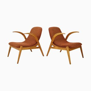 Lounge Chairs by Jan Vaněk for Beautiful Jizba, 1960s, Set of 2