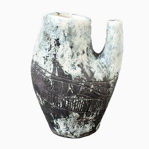 Jarra francesa de cerámica de Jacques Blin, años 50
