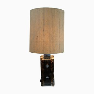 Large Space Age Table Lamp from Staff, 1970s
