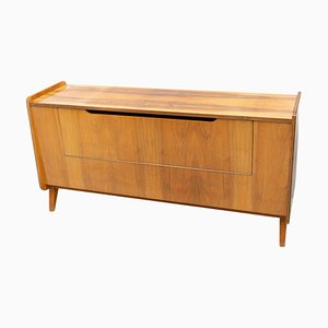Mid-Century Modern Walnut Dresser by František Jirák for Tatra, Czechoslovakia, 1960s